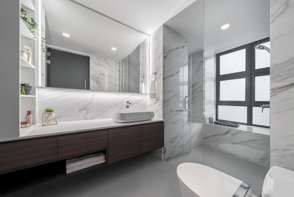 Contemporary, Condo, Bathroom, The Beverly, Interior Designer, Summerhaus D'zign