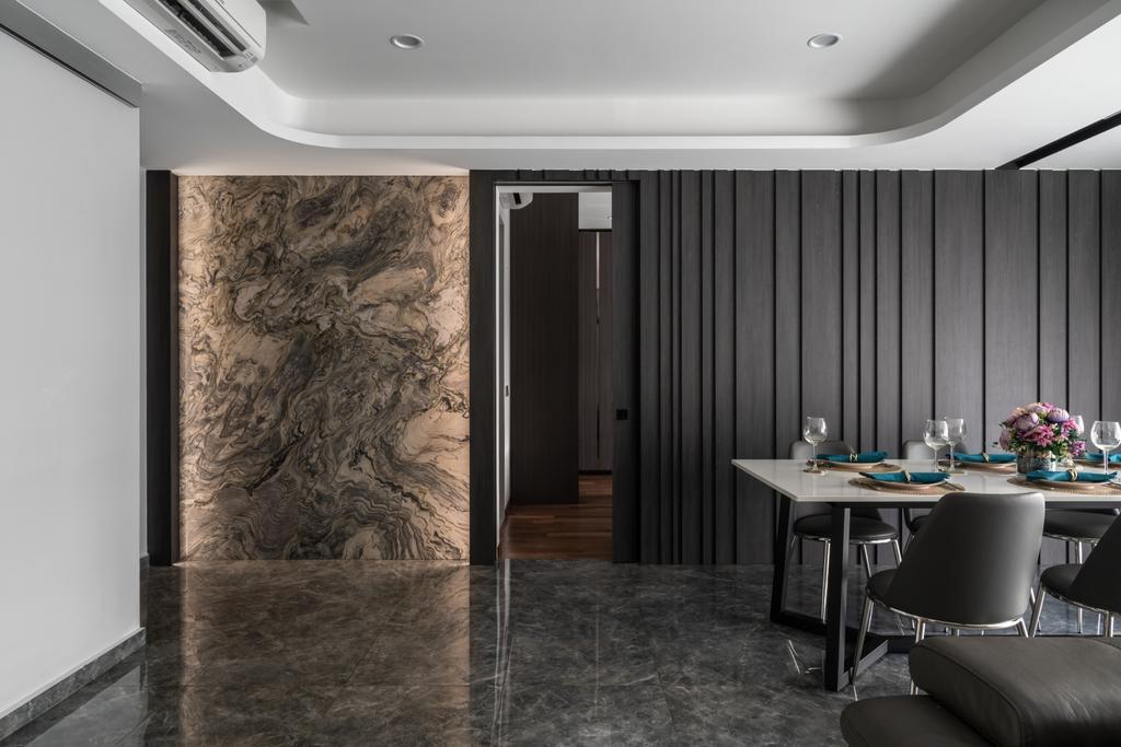 Contemporary, Condo, Dining Room, The Beverly, Interior Designer, Summerhaus D'zign