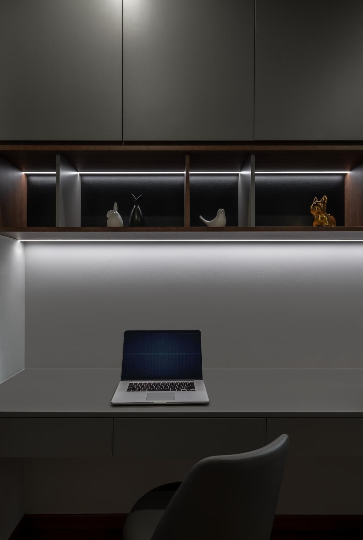 Contemporary, Condo, Study, The Beverly, Interior Designer, Summerhaus D'zign
