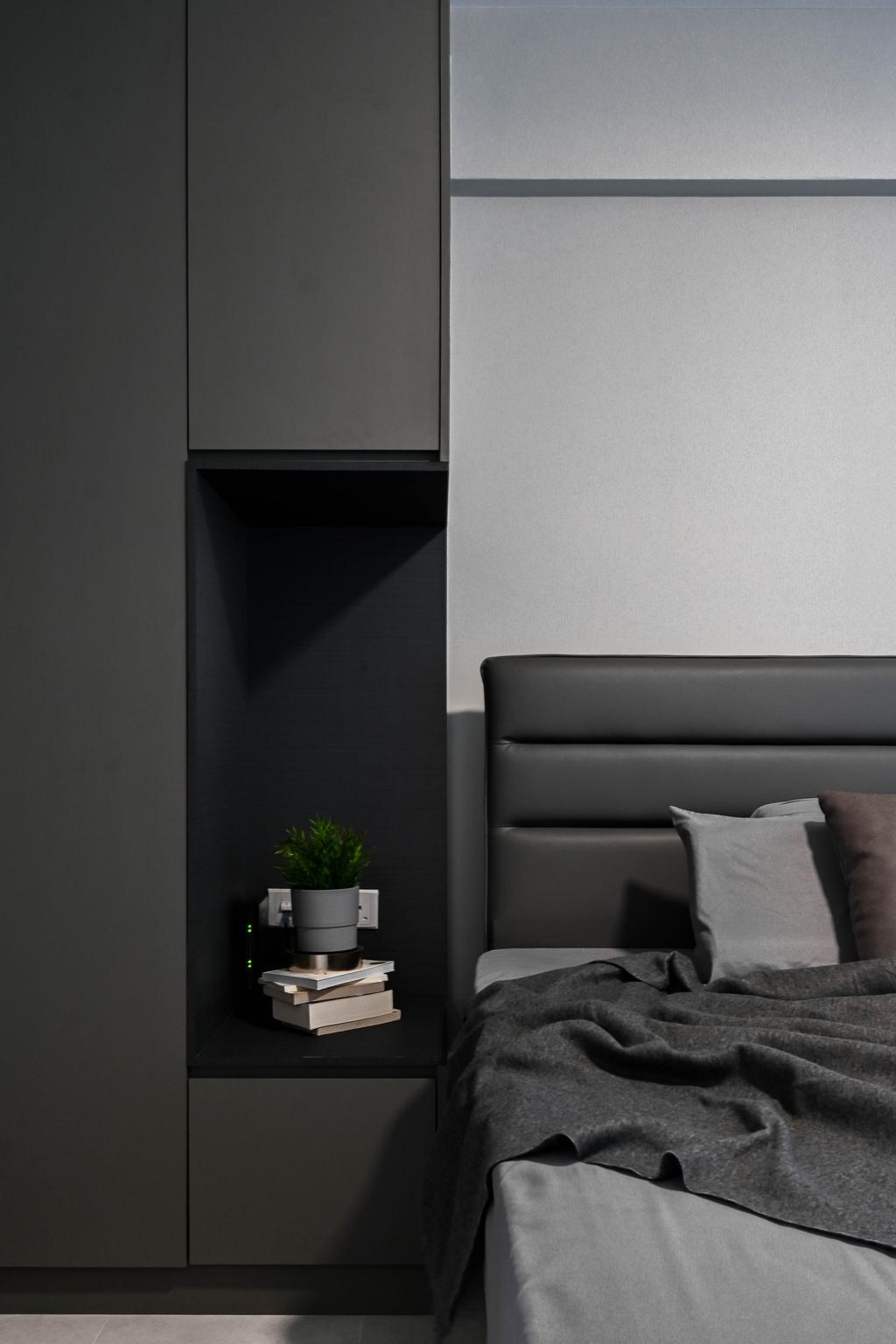 Contemporary, HDB, Bedroom, Sengkang East Avenue, Interior Designer, Yang's Inspiration Design