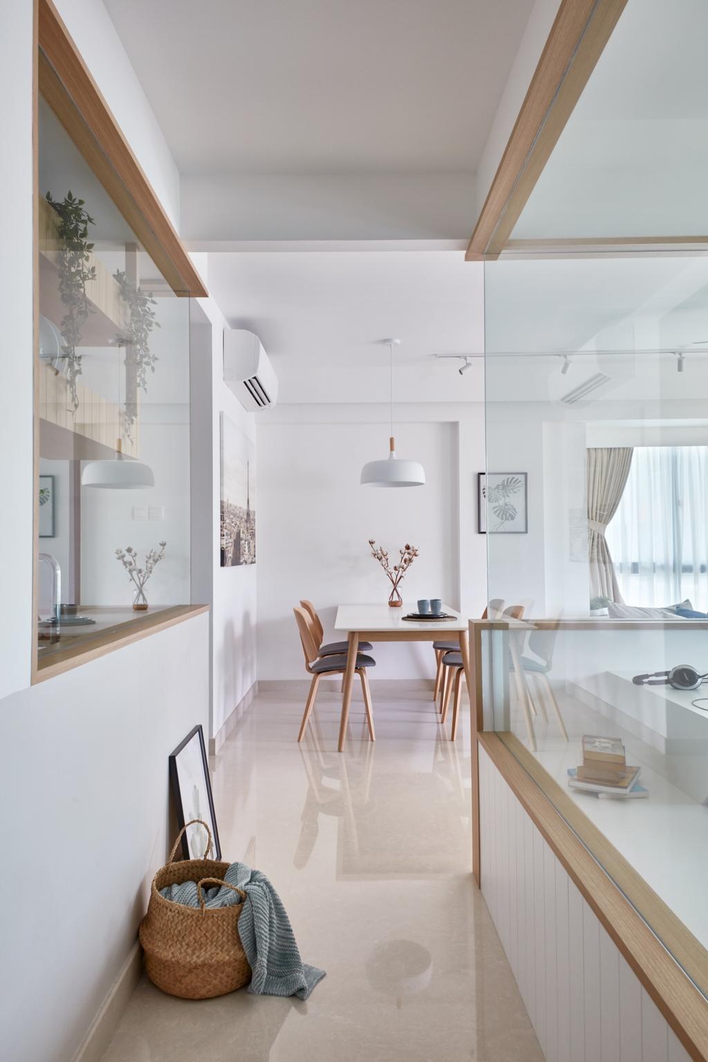Scandinavian, Condo, Living Room, The Medley, Interior Designer, Free Space Intent