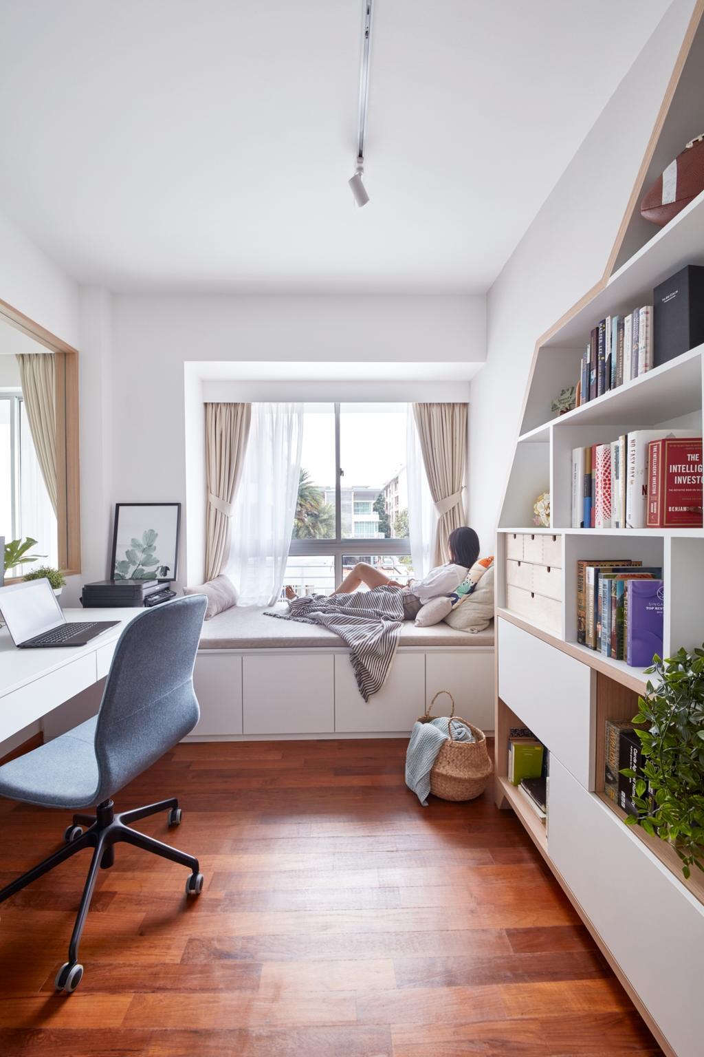 Scandinavian, Condo, Study, The Medley, Interior Designer, Free Space Intent