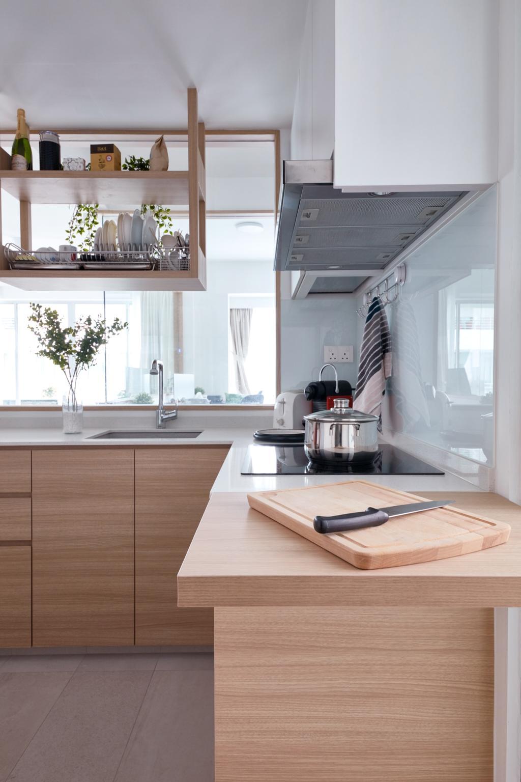 Scandinavian, Condo, Kitchen, The Medley, Interior Designer, Free Space Intent