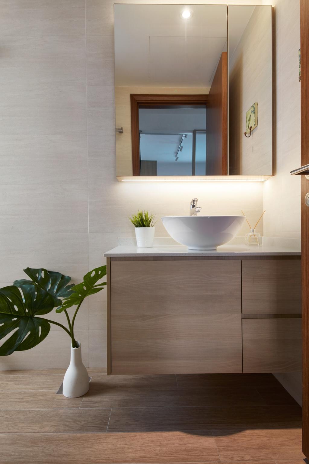 Scandinavian, Condo, Bathroom, The Medley, Interior Designer, Free Space Intent