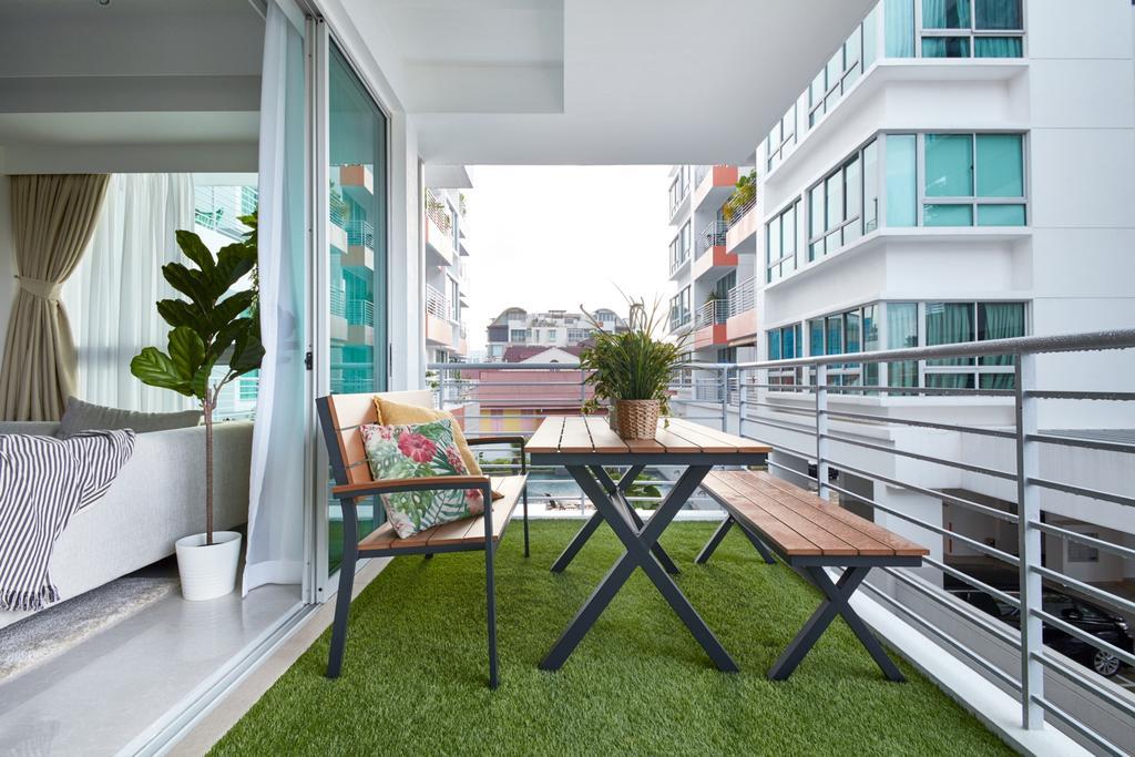 Scandinavian, Condo, Balcony, The Medley, Interior Designer, Free Space Intent