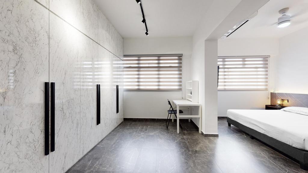 Contemporary, HDB, Bedroom, Buangkok Link, Interior Designer, Stylemyspace