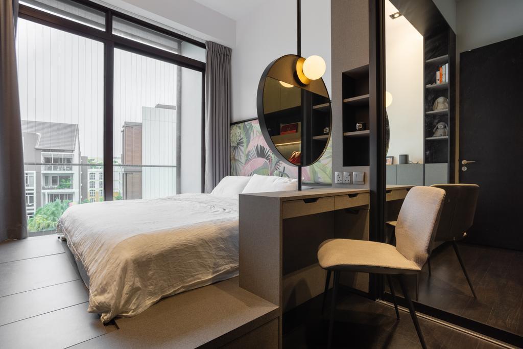 Contemporary, Condo, Bedroom, Mayfair Residences, Interior Designer, Habit