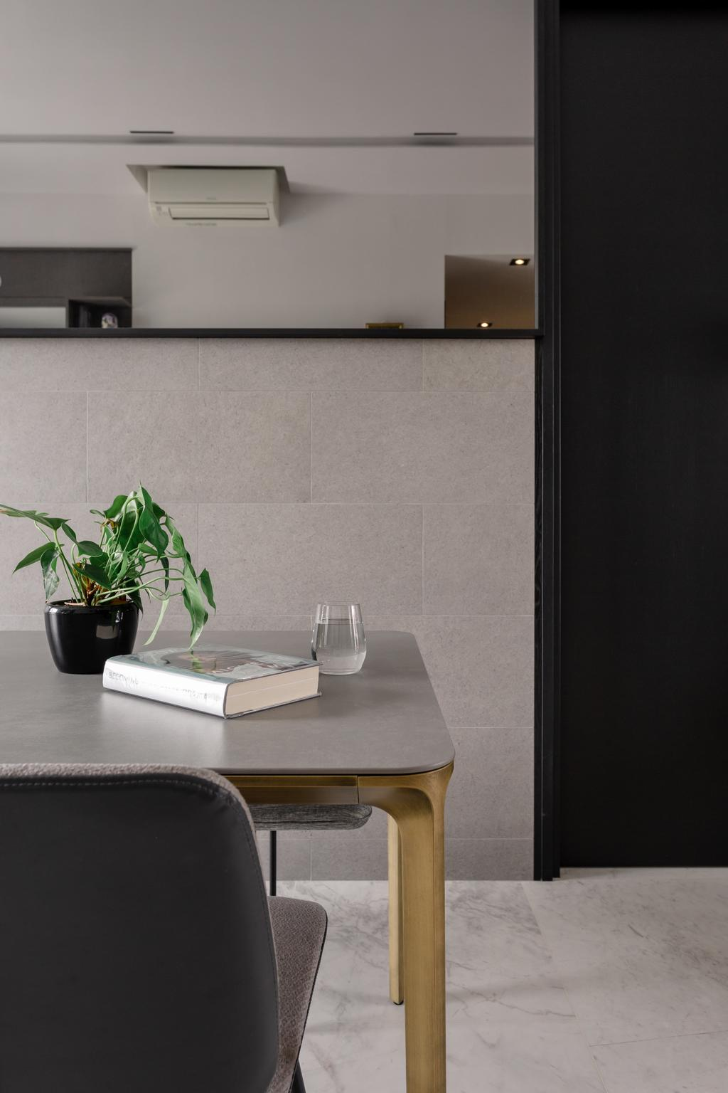 Contemporary, Condo, Dining Room, Mayfair Residences, Interior Designer, Habit