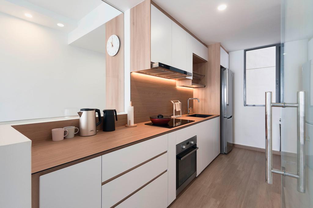 Contemporary, Condo, Kitchen, Riversails, Interior Designer, Charlotte's Carpentry, Modern