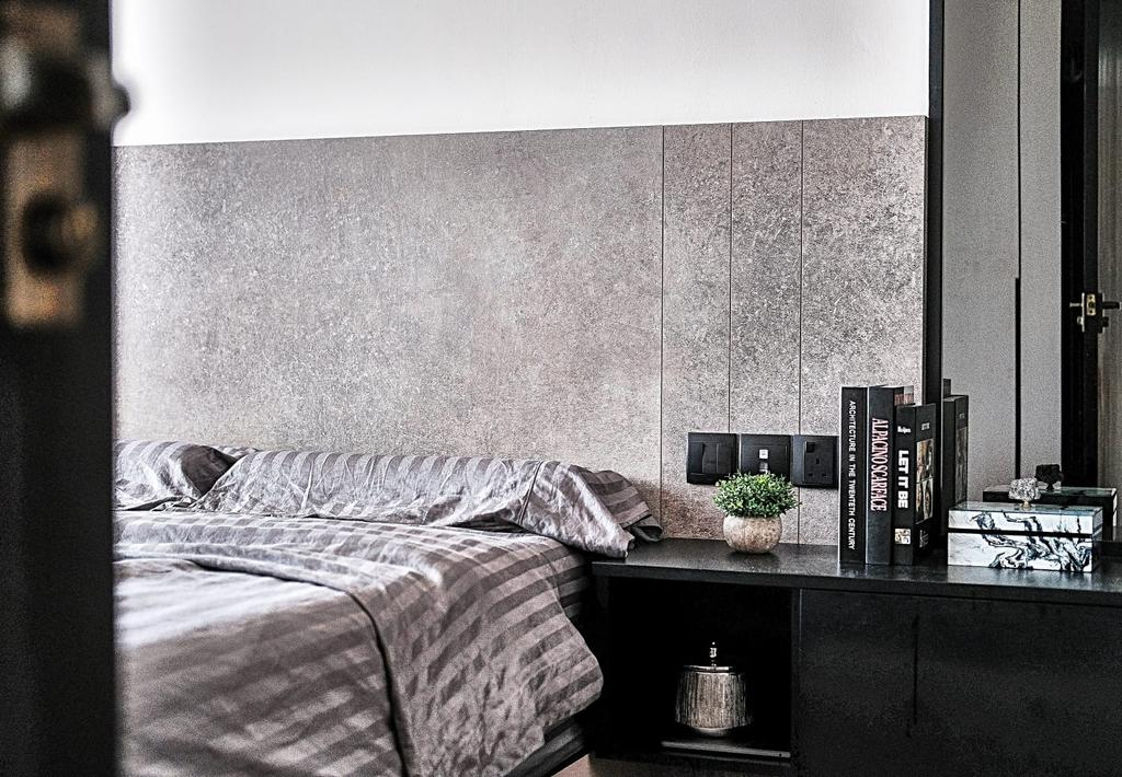 Contemporary, HDB, Bedroom, Strathmore Avenue, Interior Designer, United Team Lifestyle