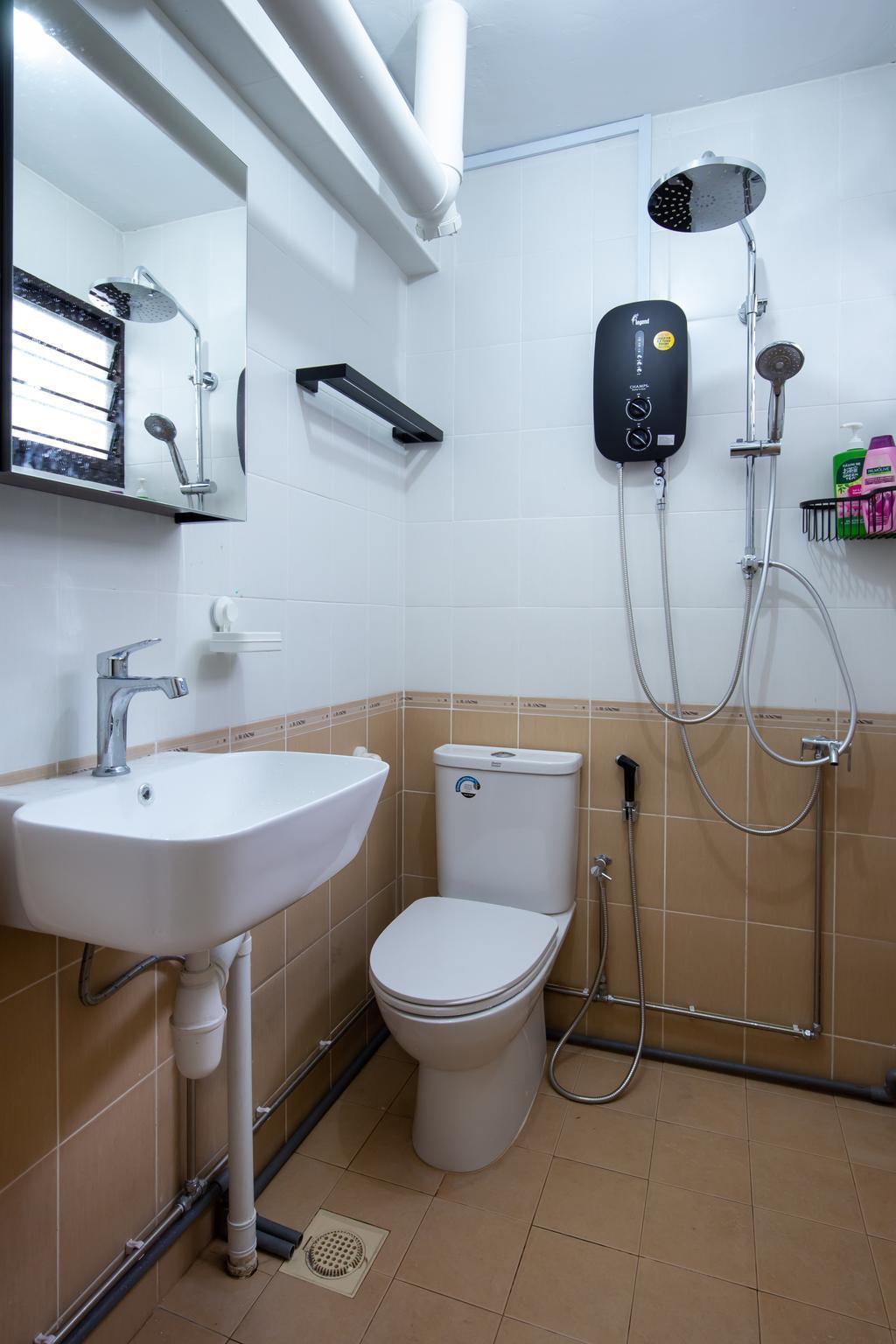Modern, HDB, Bathroom, Bukit Batok Central, Interior Designer, D & T Creation