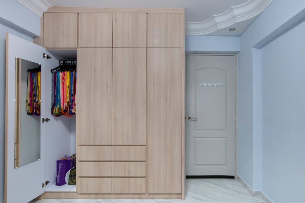 Modern, HDB, Bedroom, Bukit Batok Central, Interior Designer, D & T Creation