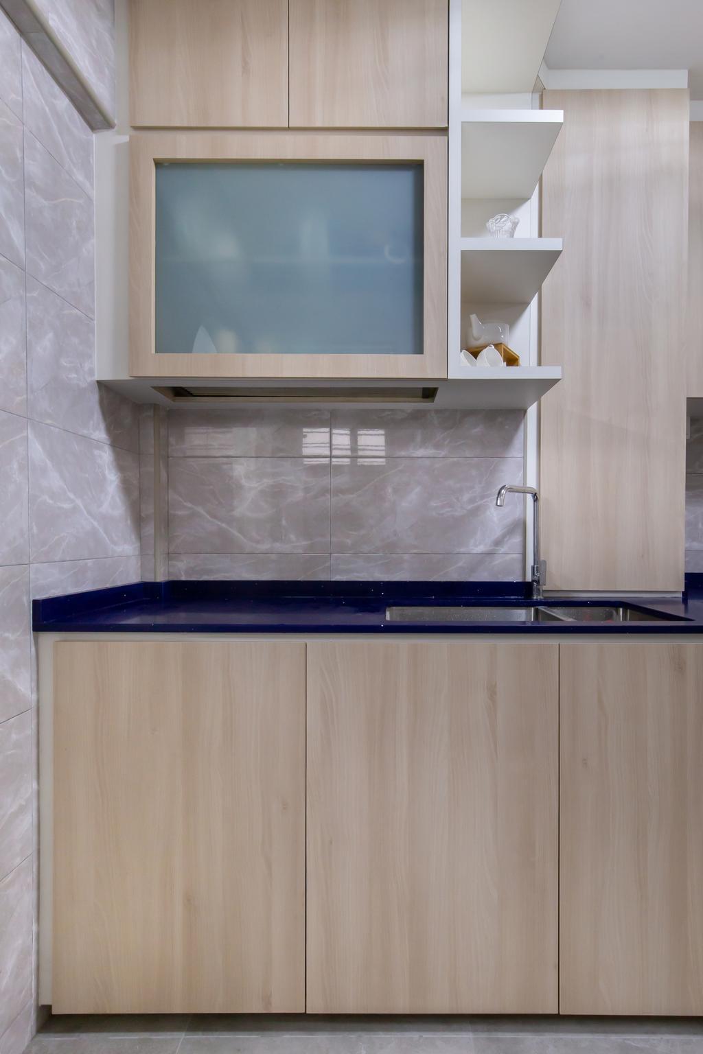 Modern, HDB, Kitchen, Bukit Batok Central, Interior Designer, D & T Creation