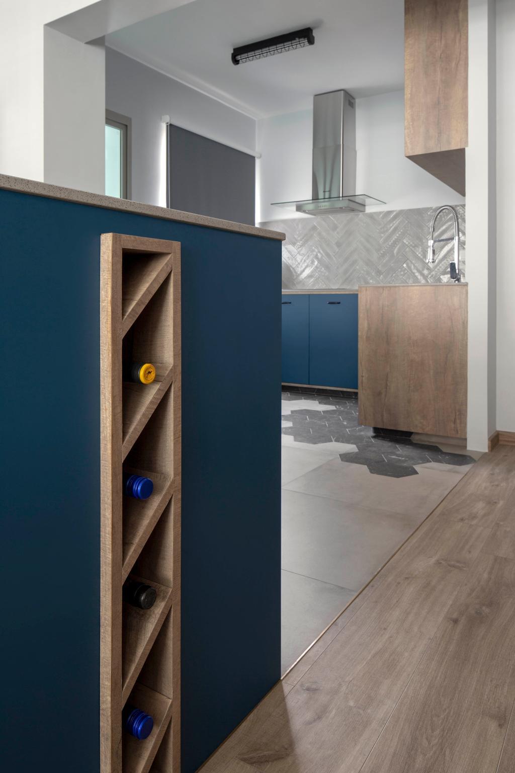 Contemporary, HDB, Kitchen, Compassvale Link, Interior Designer, Versaform, Scandinavian