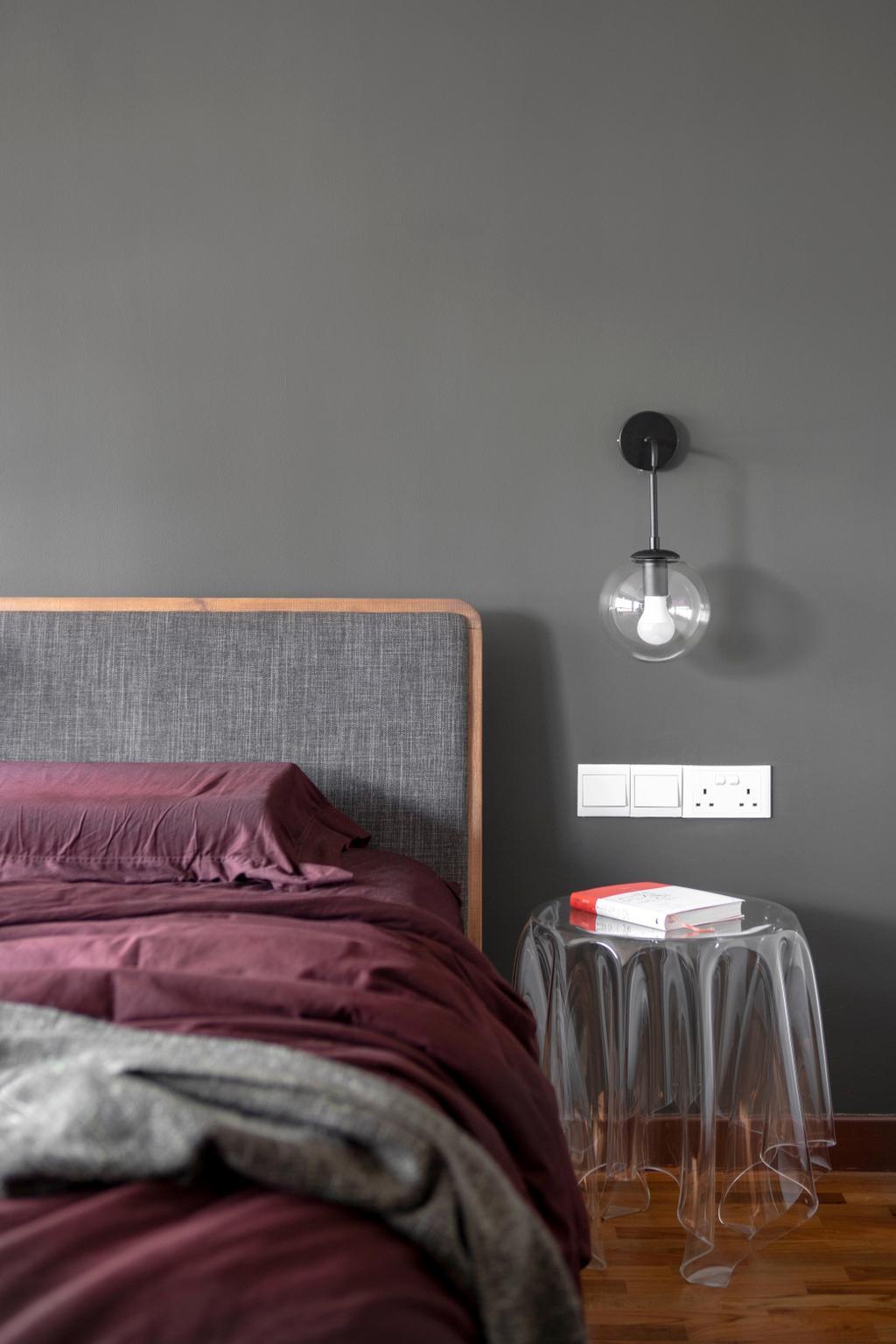 Contemporary, HDB, Bedroom, Compassvale Link, Interior Designer, Versaform, Scandinavian