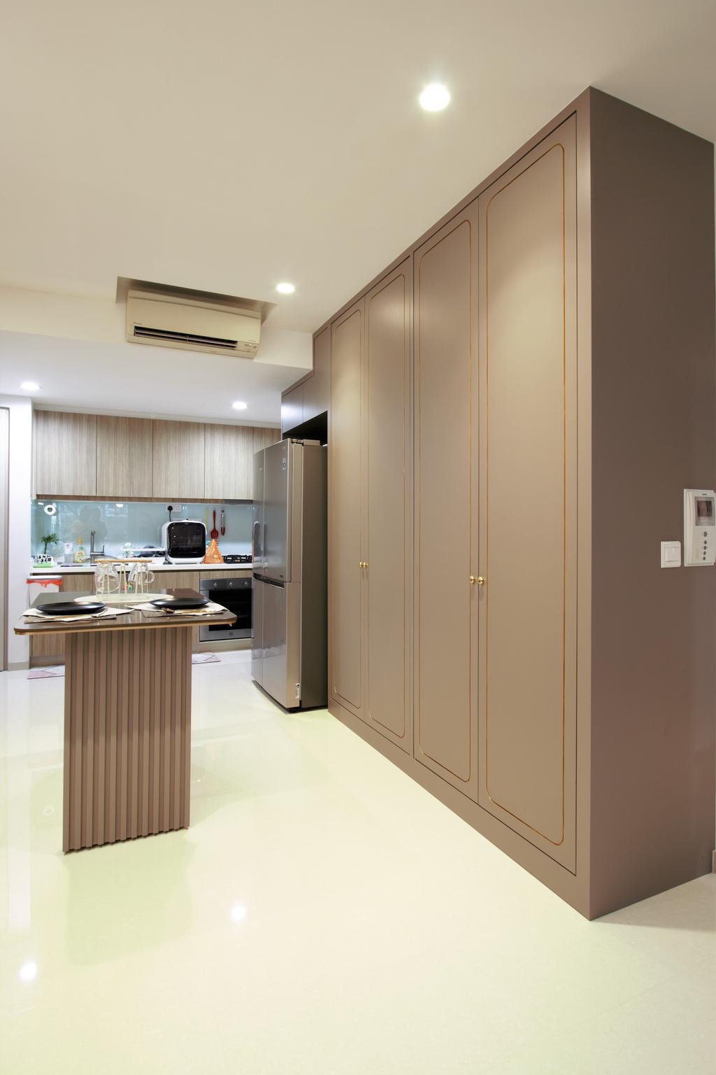 Modern, Condo, Kitchen, Optima @ Tanah Merah, Interior Designer, D'Phenomenal
