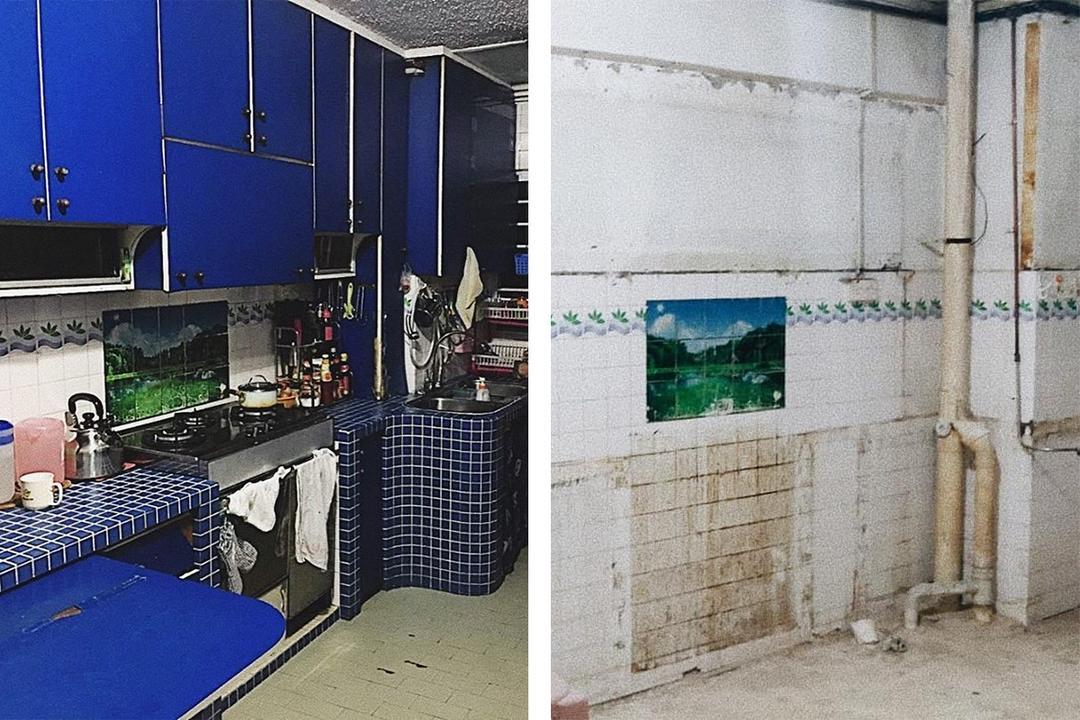 singapore renovation woodlands HDB