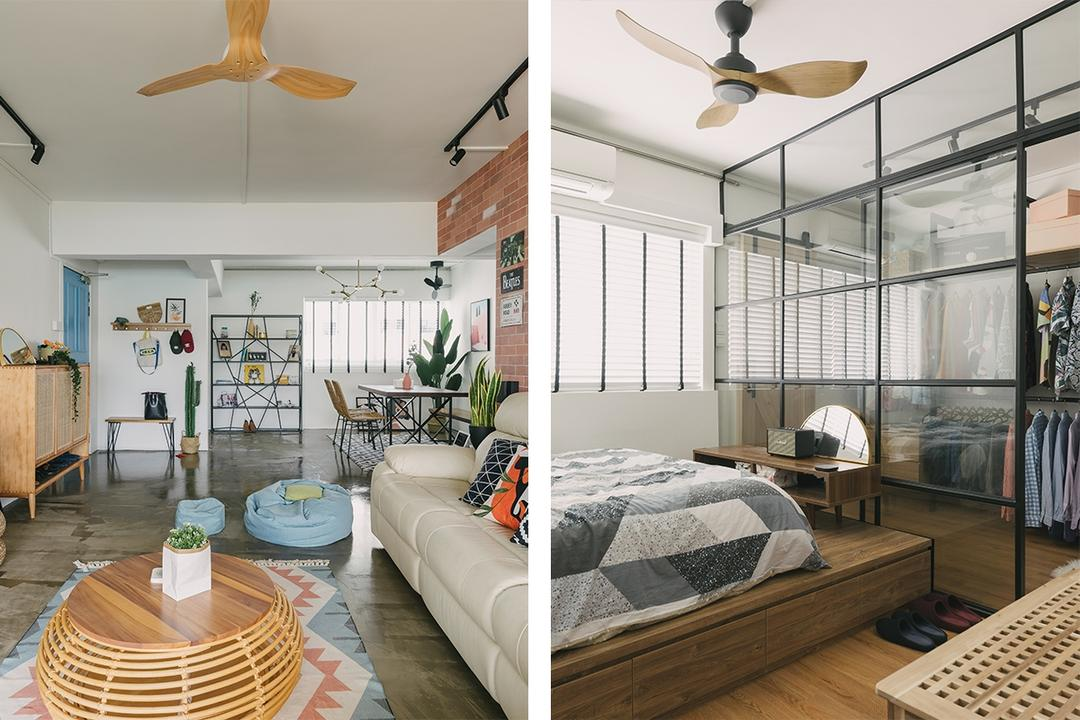 A Love for Bali and Industrial Chic Shows in This Cool Home 8