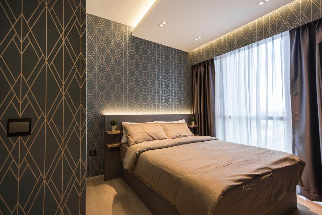Contemporary, Condo, Bedroom, High Park Residences, Interior Designer, Flo Design