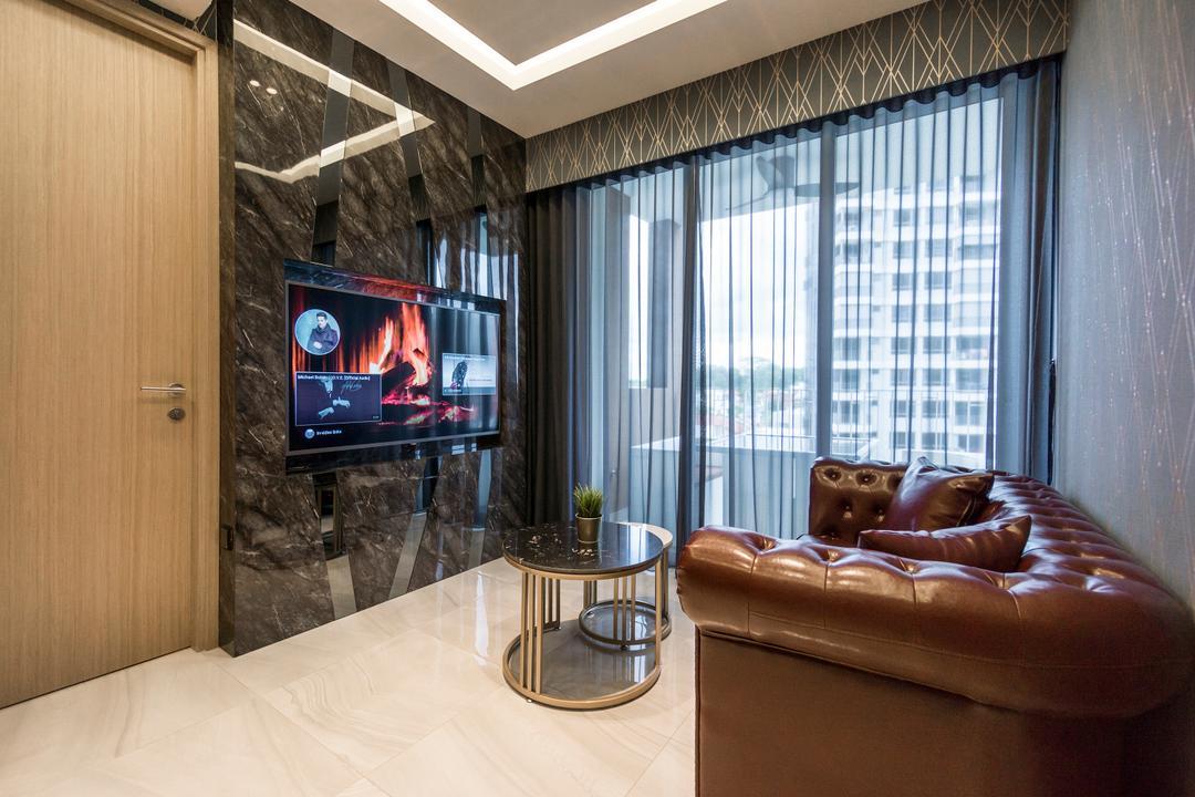 High Park Residences Living Room Interior Design 10