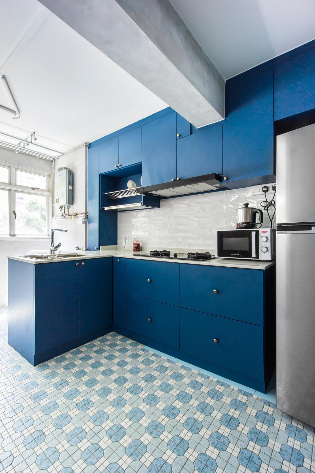 Retro, HDB, Holland Avenue, Interior Designer, Flo Design