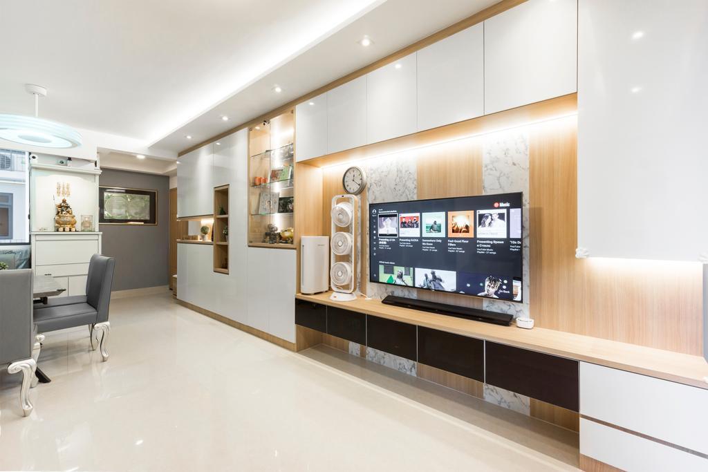 Modern, Condo, Living Room, Hundred Palms, Interior Designer, Flo Design