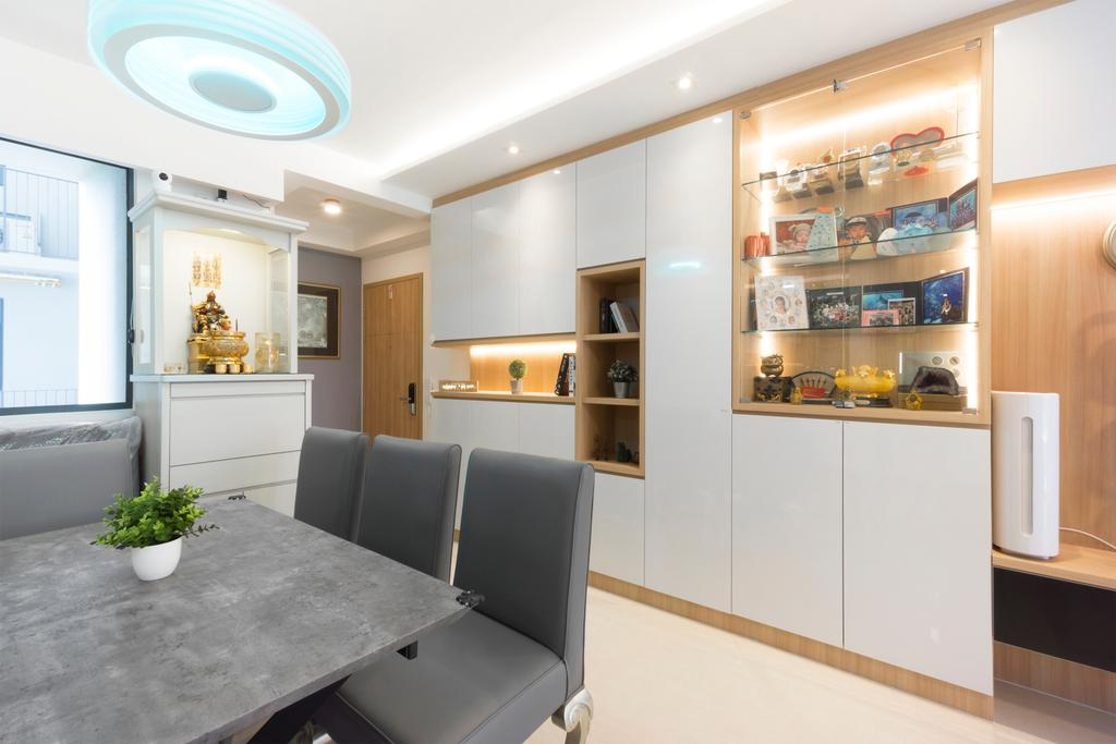 Modern, Condo, Dining Room, Hundred Palms, Interior Designer, Flo Design