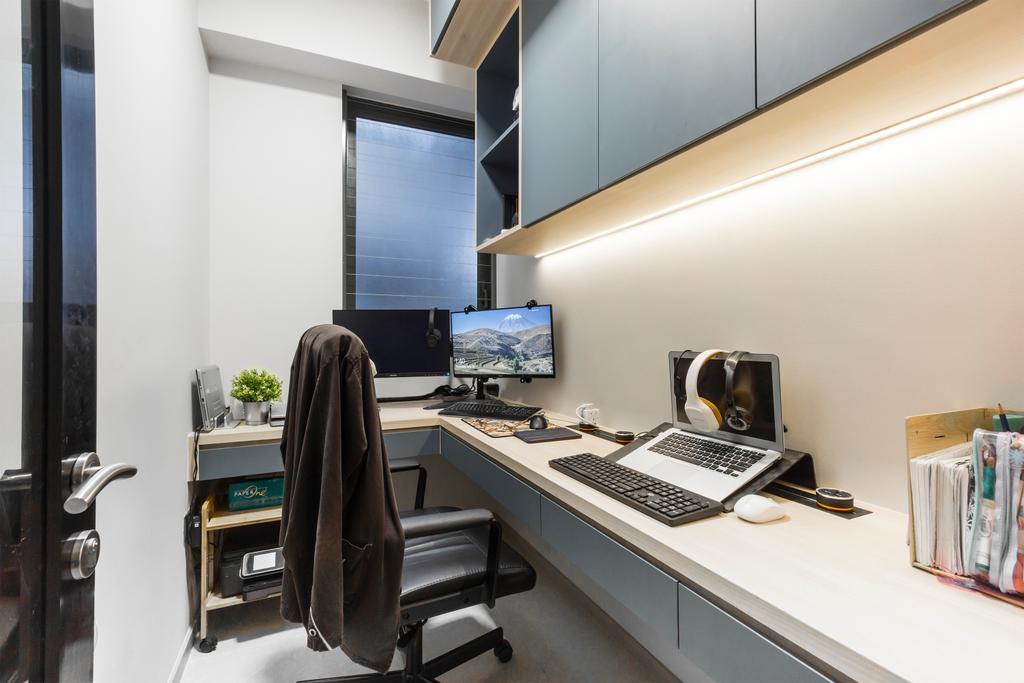 Contemporary, Condo, Study, iNZ Residence, Interior Designer, Flo Design
