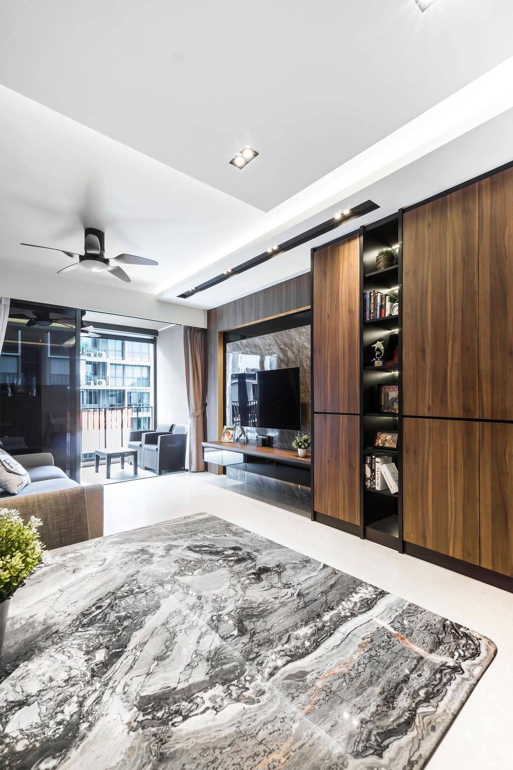 Contemporary, Condo, Living Room, iNZ Residence, Interior Designer, Flo Design