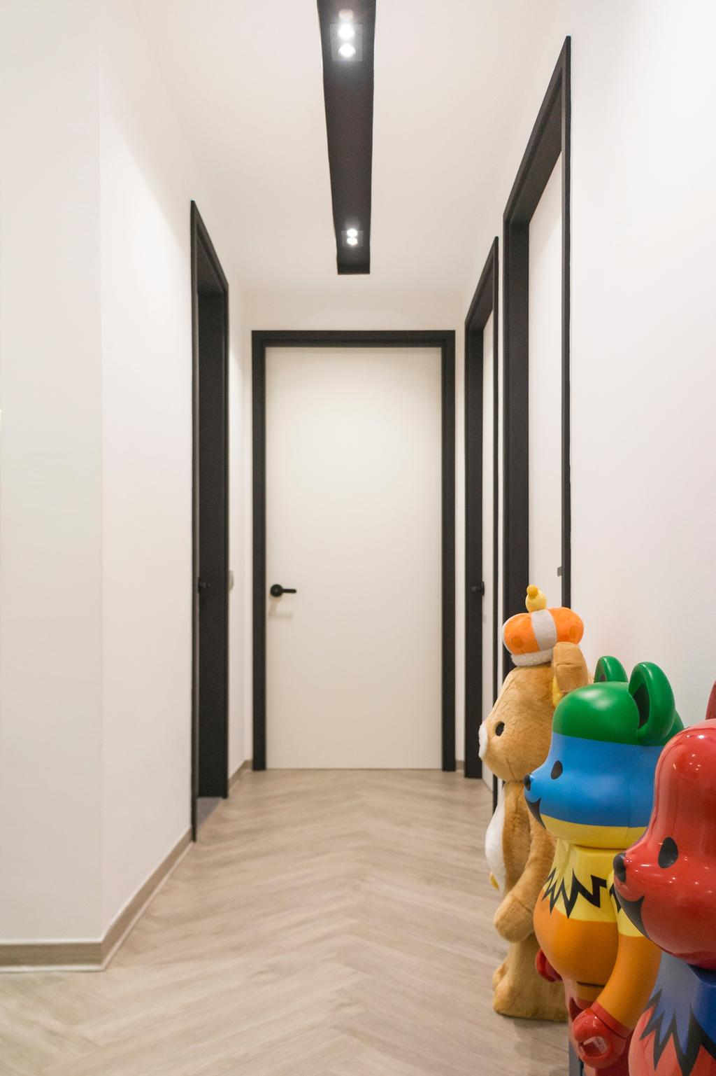 Contemporary, Condo, Living Room, Waterview, Interior Designer, Flo Design