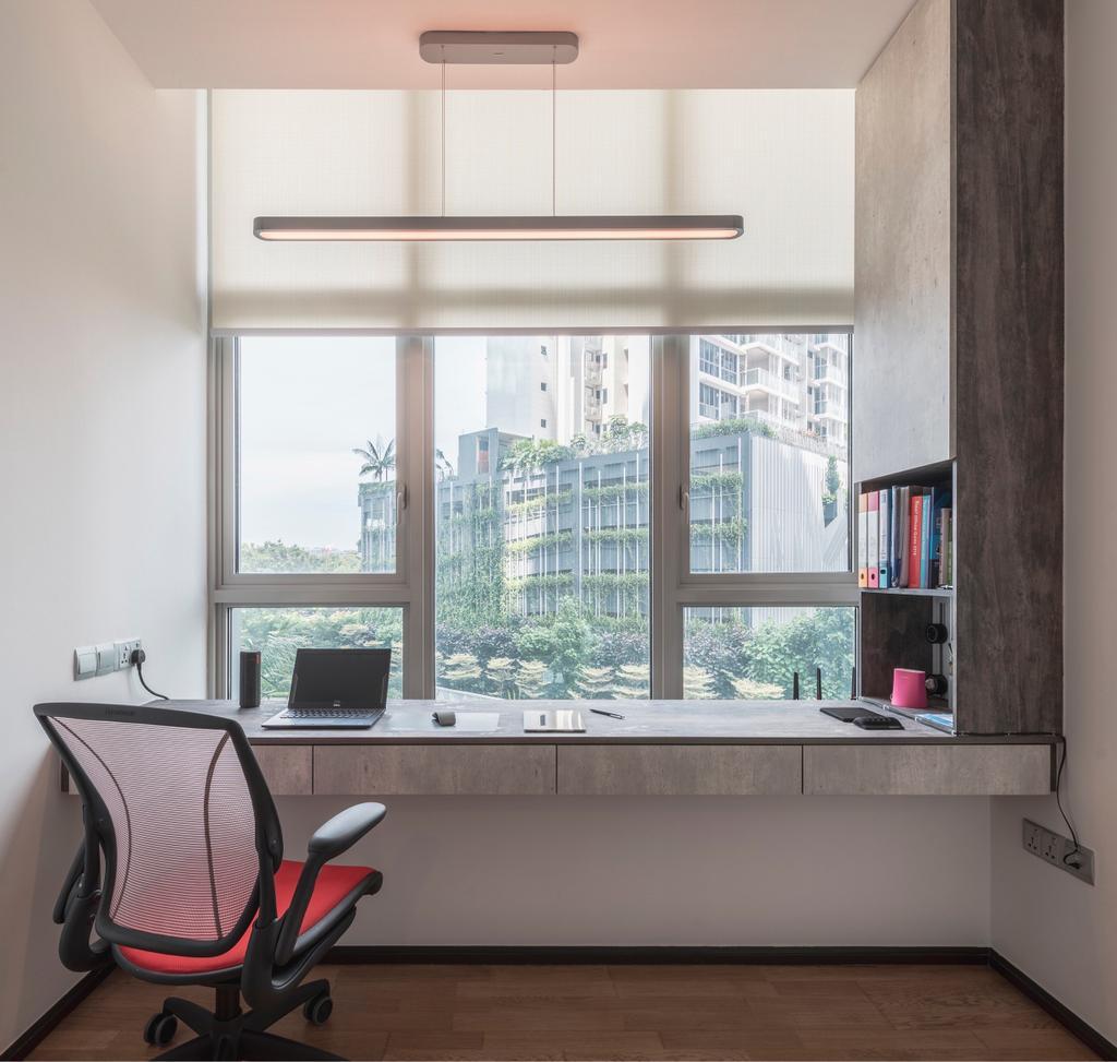 Contemporary, Condo, Study, The Vision, Interior Designer, JC.M Interior