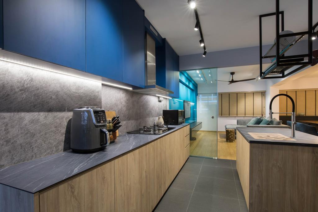 Contemporary, HDB, Kitchen, Toa Payoh Lorong 1, Interior Designer, Inizio Atelier, Scandinavian