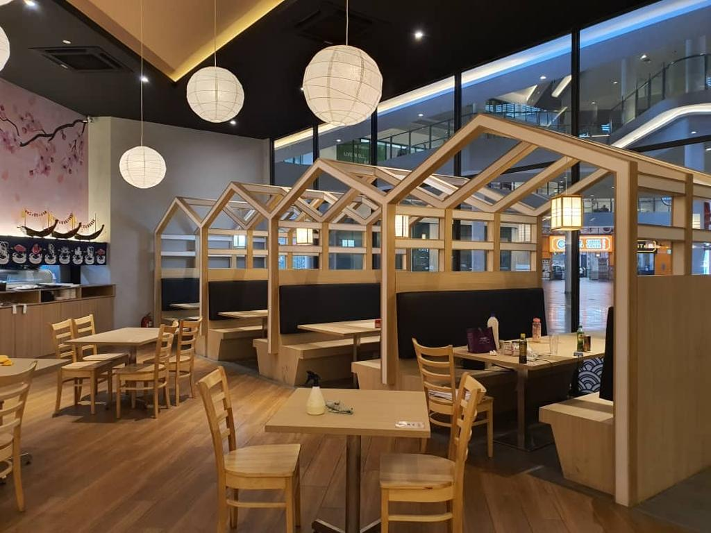 Sushi House, Sunway Geo, Commercial, Interior Designer, ID&A Method Sdn Bhd, Modern