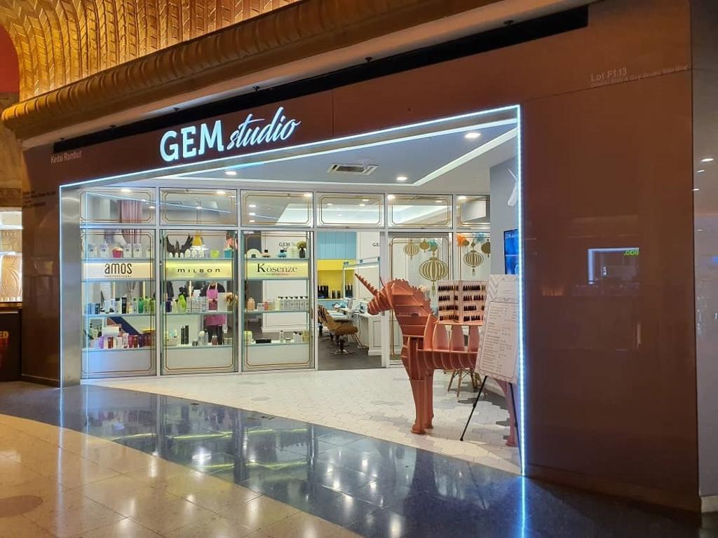 Gem Studio, Sunway Pyramid, Commercial, Interior Designer, ID&A Method Sdn Bhd, Modern