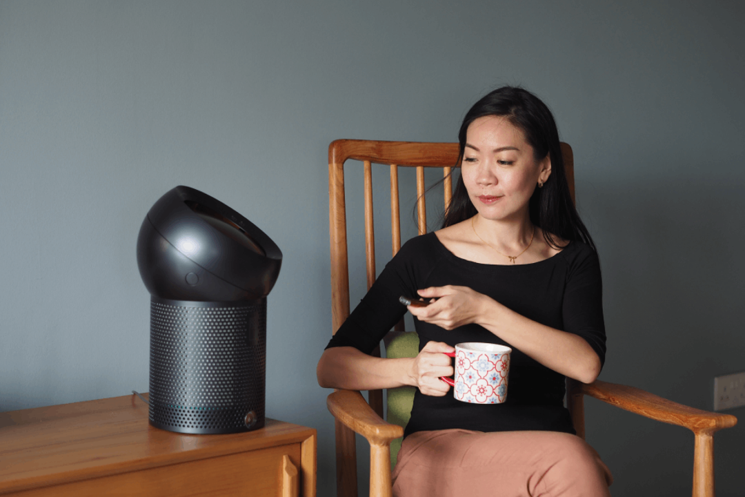 This Purifying Dyson Fan Keeps Your Air Both Clean and Cool 4