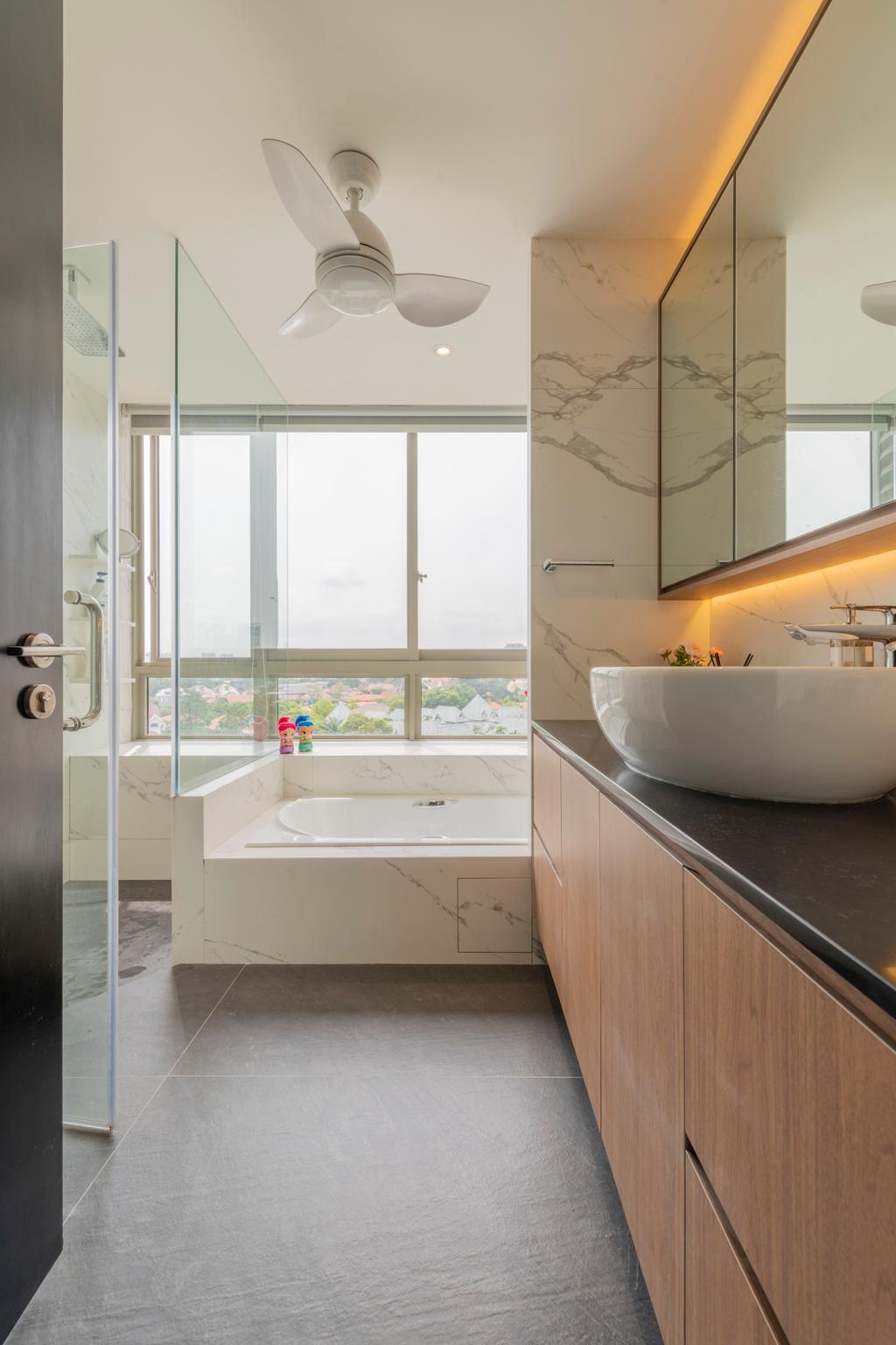 Modern, Condo, Bathroom, The Seafront 57, Interior Designer, Divine & Glitz