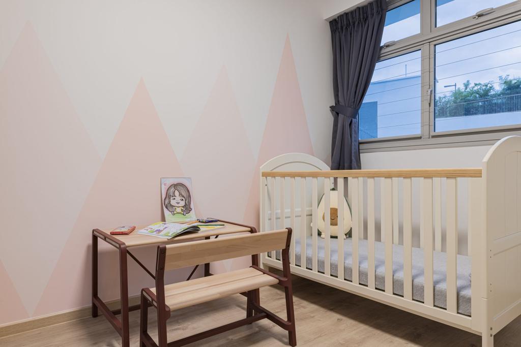 Contemporary, HDB, Bedroom, Tampines North, Interior Designer, Divine & Glitz