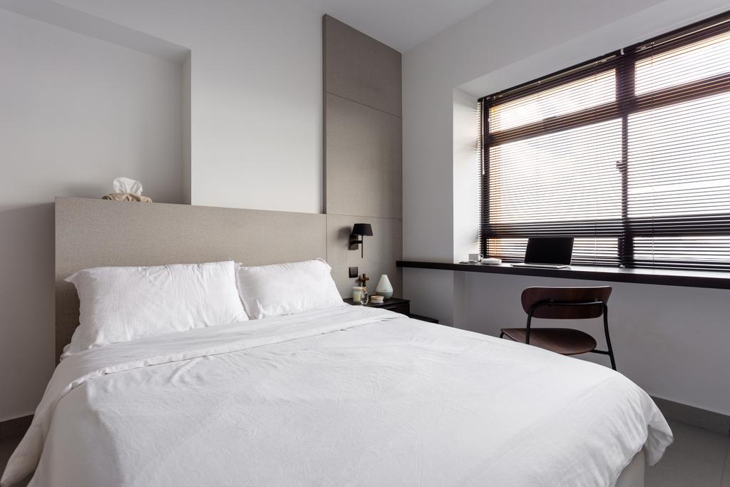 Contemporary, HDB, Bedroom, Dover Crescent, Interior Designer, Habit