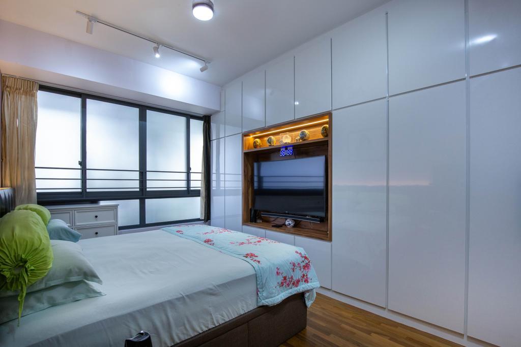 Modern, Condo, Bedroom, Residences Botanique, Interior Designer, New Chapter Design.com