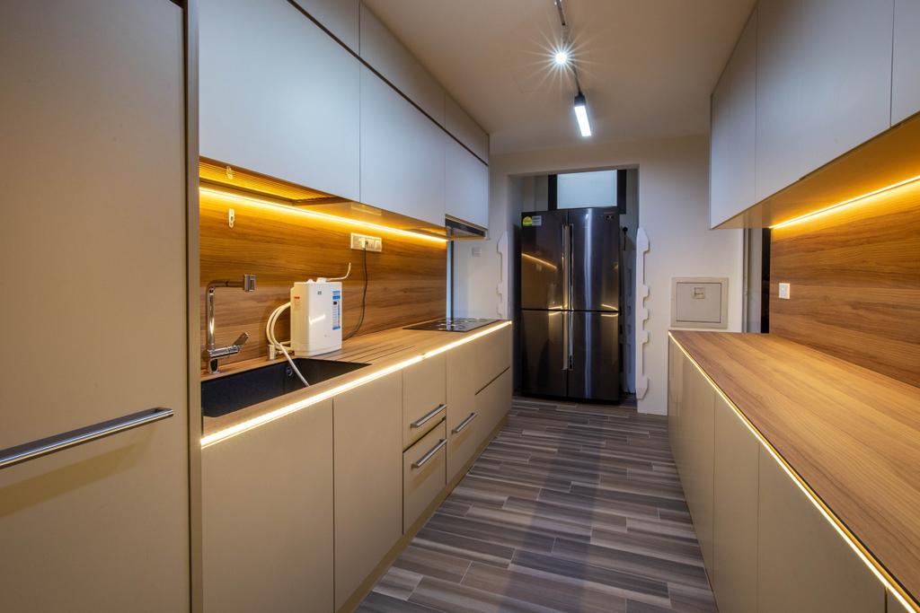 Modern, Condo, Kitchen, Residences Botanique, Interior Designer, New Chapter Design.com