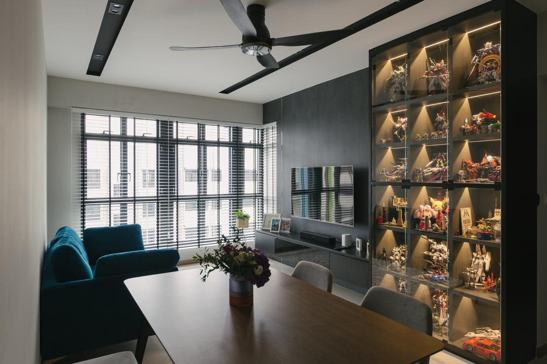 Alkaff Crescent, Third Paragraph, Contemporary, Living Room, HDB, Collectiblles, Collection, Display, Figurine