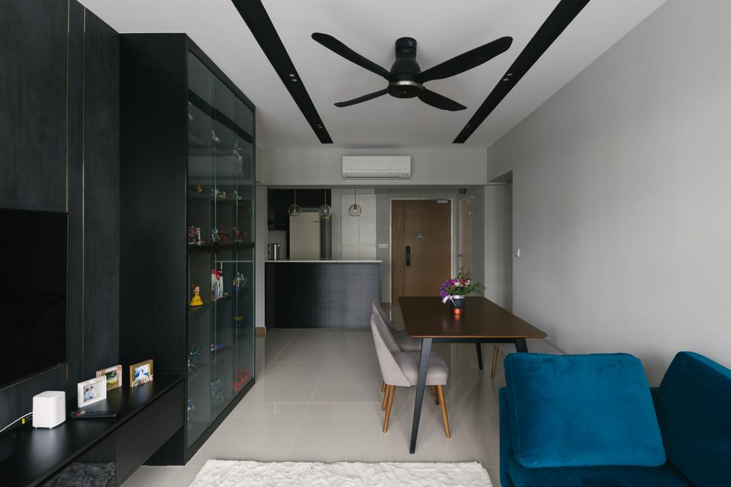 Contemporary, HDB, Living Room, Alkaff Crescent, Interior Designer, Third Paragraph