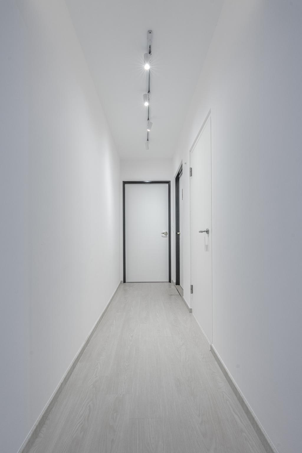 Contemporary, HDB, Tampines North Drive 1, Interior Designer, Luova Project Services