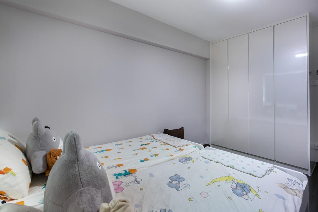 Contemporary, HDB, Bedroom, Hougang Ave 10, Interior Designer, New Chapter Design.com