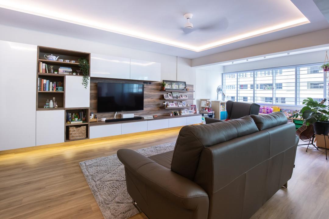 Hougang Ave 10 Living Room Interior Design 1