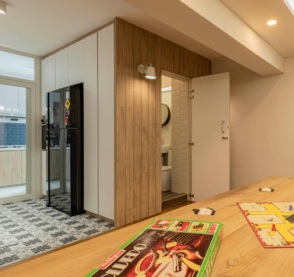 Contemporary, HDB, Kitchen, Bishan Street 22, Interior Designer, 13th Design Studio, Scandinavian