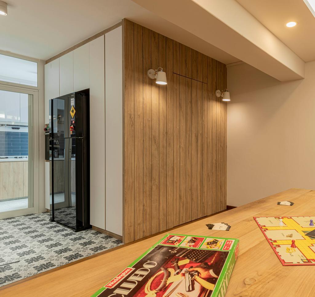 Contemporary, HDB, Kitchen, Bishan Street 22, Interior Designer, 13th Design Studio, Scandinavian