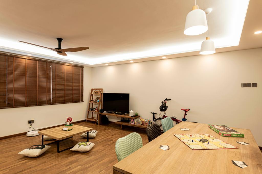 Contemporary, HDB, Living Room, Bishan Street 22, Interior Designer, 13th Design Studio, Scandinavian