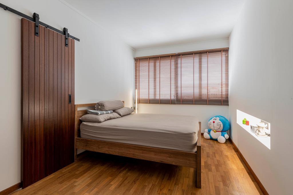 Contemporary, HDB, Bedroom, Bishan Street 22, Interior Designer, 13th Design Studio, Scandinavian