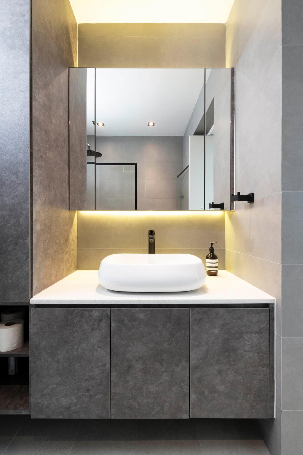 Contemporary, Condo, Bathroom, The Sunny Spring, Interior Designer, 13th Design Studio
